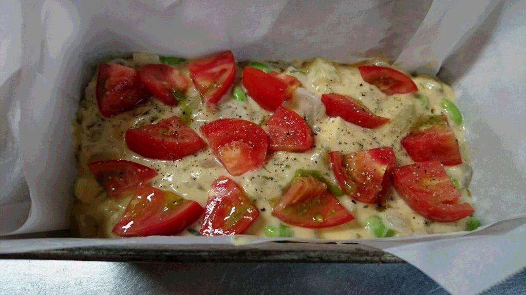 ケークサレ トマト