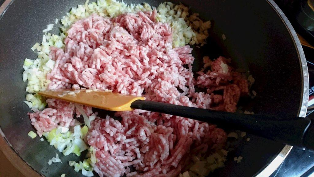 マーボー 挽き肉