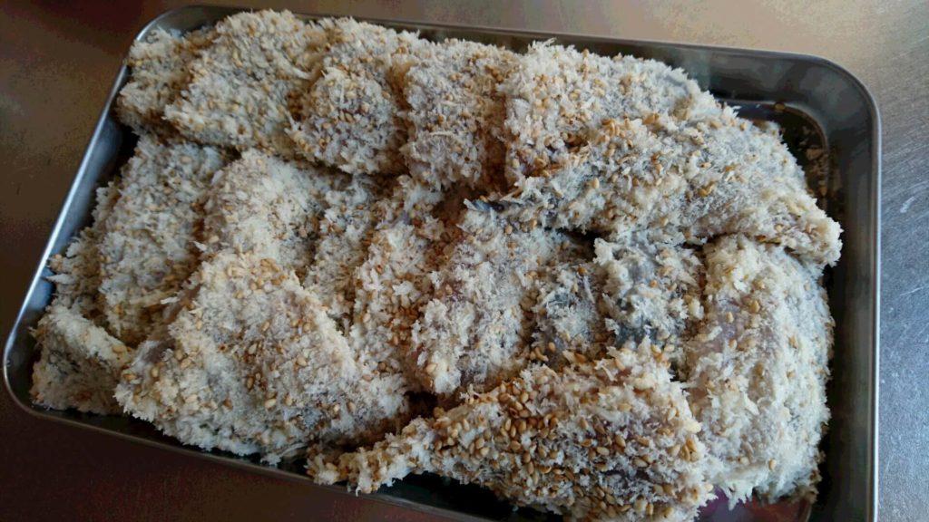 魚フライ パン粉