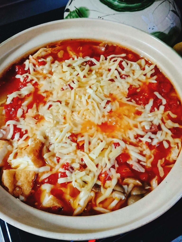 ハーブ塩とチーズ