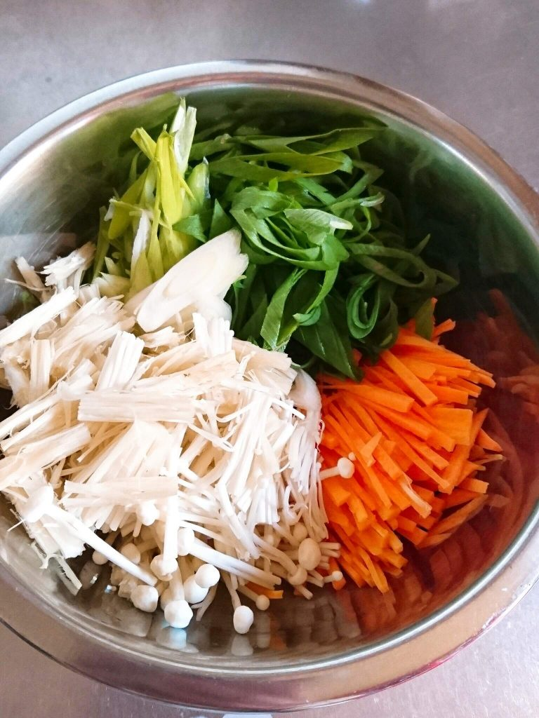 チヂミ 野菜