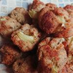 【アカモクレシピ】アカモク入りカリフラワー肉だんご